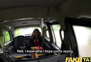 Fake Taxi Horny deepthroat and shove around anal fuck reward be advisable for driver