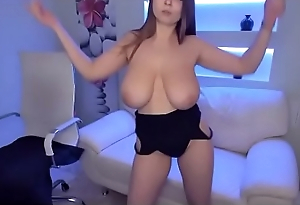 Erotic hot comprehensive teasing tremendous tits Wow