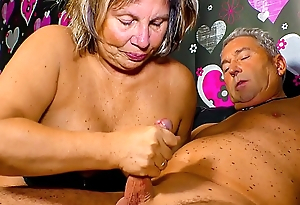 XXX OMAS - Sultry German granny needs a hard cock up her mature cum-hole