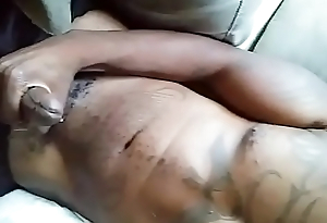 Cumming on yourself