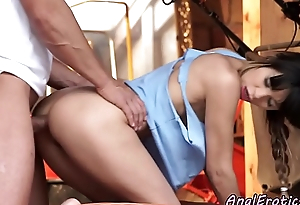 Fucked into ass babe tasting will not hear of boyfriends jizz