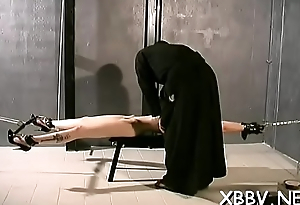 Tits torture and cum-hole s&m toying for unspecified in the matter of heats