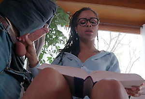 Teen Kira Noir jerks will not hear of boyfriends cock for ages c in depth taxing to study