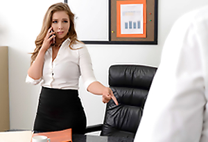 Lena Paul In the porn scene - My Boss is so Horny