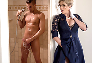 Stuck-Up Stepmom -Naked  Cory Pursue In the porn scene