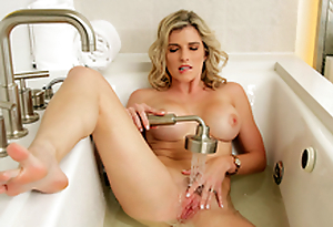 XXX Milfs On Vacation: Nude Cory Chase In get under one's porn scene