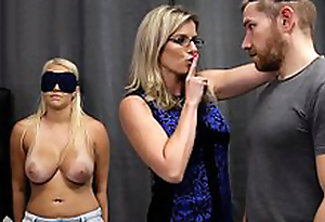 Cory Chase & Vanessa Cage - Sexy Daughter Tricked into a Threesome hither Matriarch & Dad