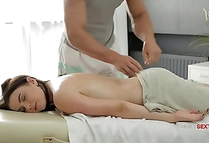 Busty Sis Thinks Her Stepbrothers Hands Are Magic &_ His Dick is no less