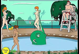 Palp monster molests women readily obtainable pool - Hardly any Commentary 2