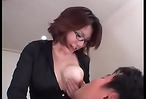Adult Breastfeeding A Milky Boss and a thirsty Employee