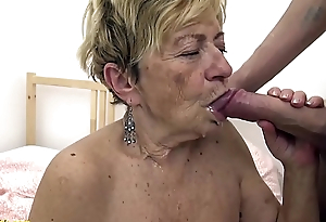 chap-fallen 90 years old granny gets rough fucked
