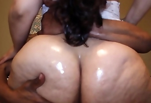 Succulent Chunky ass latina MILF riding unscrupulous dick