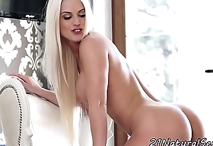 Busty model banged and sprayed with jizz