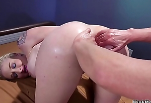 Interrogation officer anal fists Mr Big