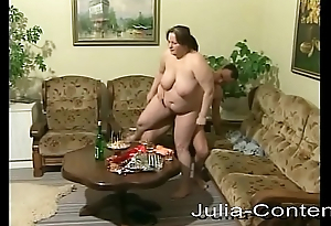 She is fat, housewife coupled with bonks horny.