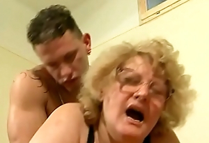 60 years, horny, makes say no to first amateur video