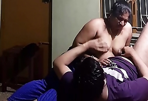 Indian Homemade Titjob - Cock Rub on high Nipples and Boobs